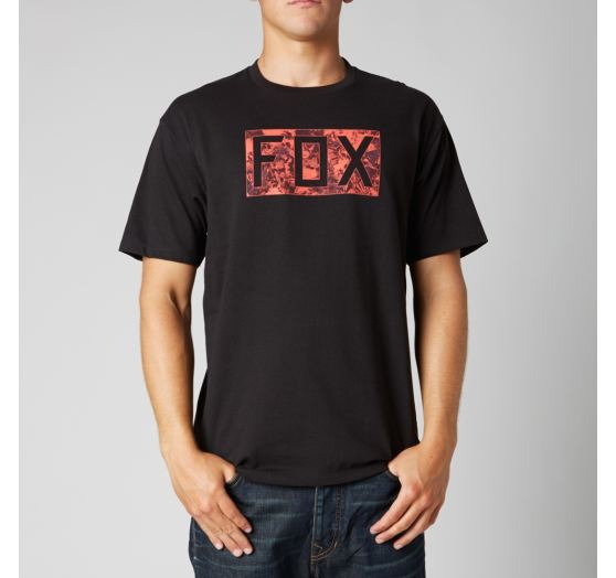 trička Fox-Croozade Ss Tee Black